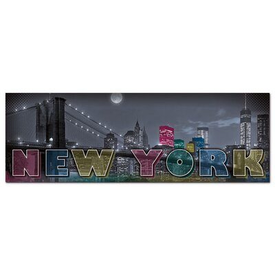 Graz Design Acrylglasbild New York, Skyline