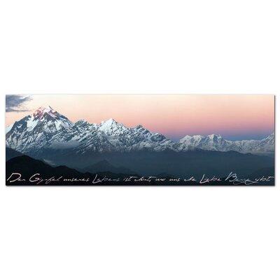 Graz Design Acrylglasbild Der Gipfel unseres Lebens