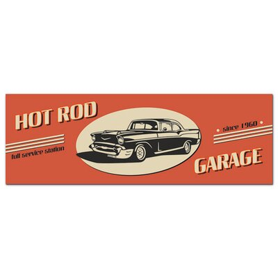 Graz Design Acrylglasbild Hot Rod, Garage