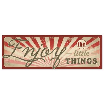 Graz Design Acrylglasbild Enjoy The Little Things