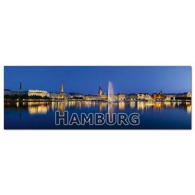 Graz Design Acrylglasbild Hamburg, Alster, Gebäude