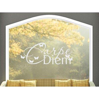Graz Design Glastattoo Carpe Diem