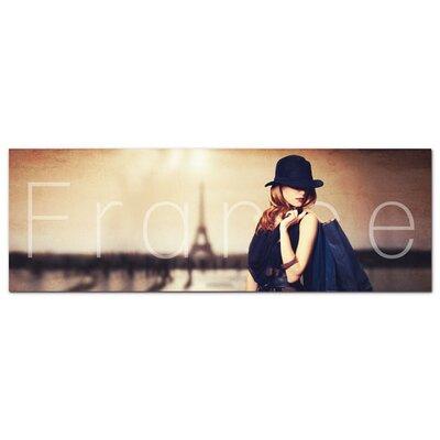 Graz Design Acrylglasbild Frau, Frankreich