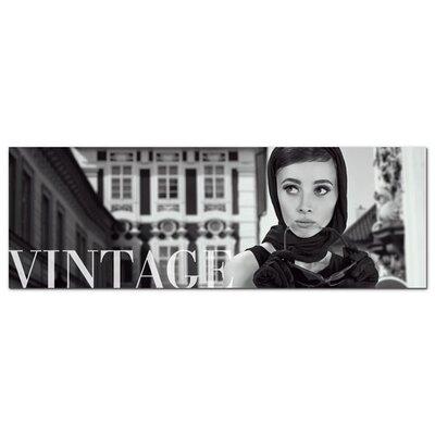 Graz Design Acrylglasbild Vintage, Audrey Hepburn