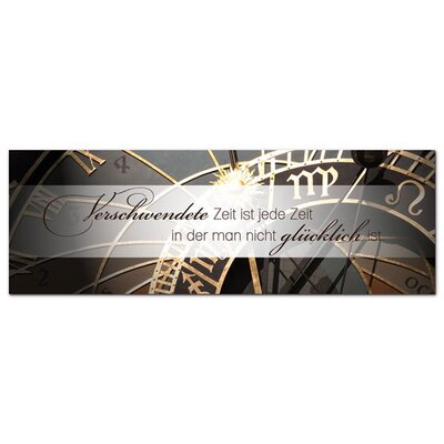Graz Design Glasbild Verschwendete Zeit Fotodruck