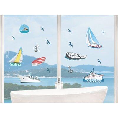 Graz Design Glastattoo Sailing, Shipping