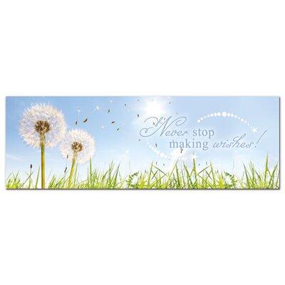 Graz Design Acrylglasbild Never stop making wishes