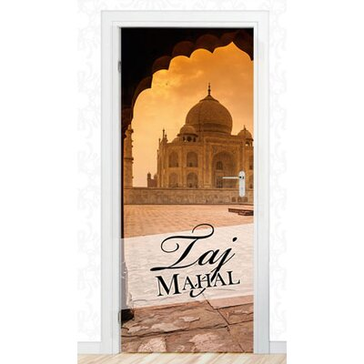 Graz Design Türaufkleber Taj Mahal, Wahrzeichen