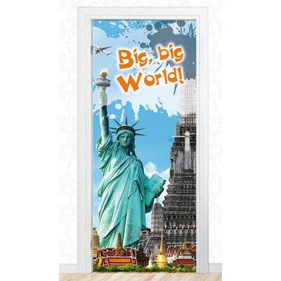 Graz Design Türaufkleber Big, Big, World!