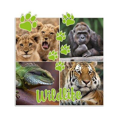 Graz Design Wandsticker Wildlife, Gorilla