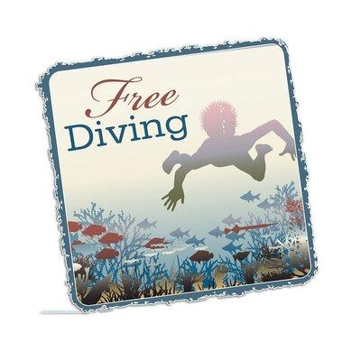 Graz Design Wandsticker Free Diving, Fische