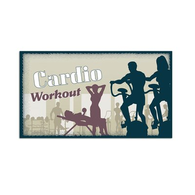 Graz Design Wandsticker Cardio Workout