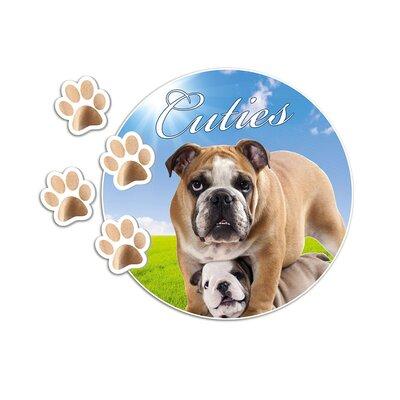 Graz Design Wandsticker Cuties, Hunde