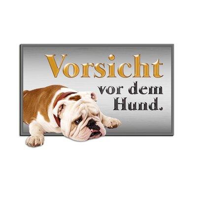 Graz Design Wandsticker Vorsicht vor dem Hund