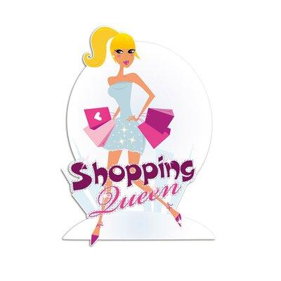 Graz Design Wandsticker Shopping Queen