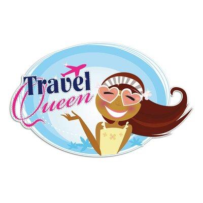 Graz Design Wandsticker Travel Queen