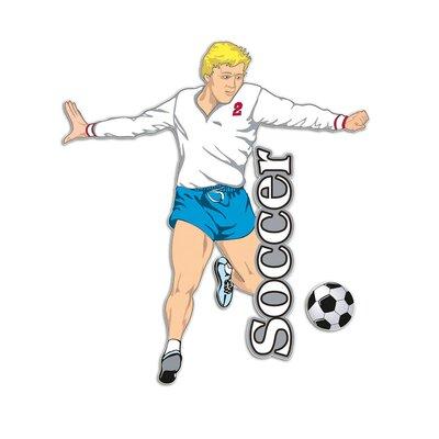 Graz Design Wandsticker Soccer