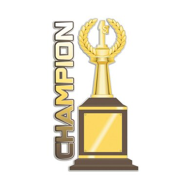 Graz Design Wandsticker Champion, Pokale