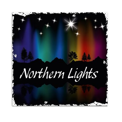 Graz Design Wandsticker Northern Lights