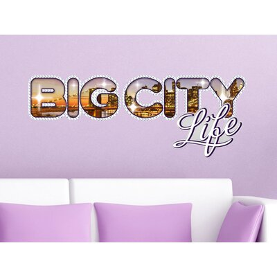 Graz Design Wandsticker Big City life