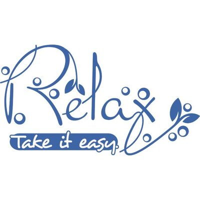 Graz Design Wandtattoo Relax take it easy