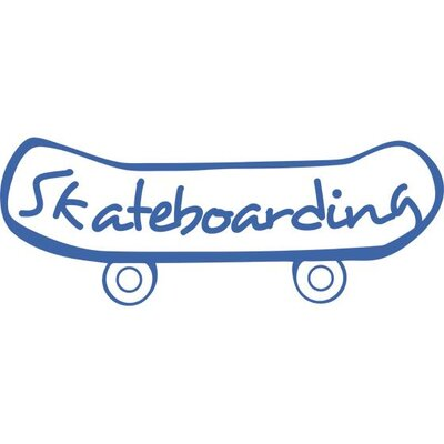 Graz Design Wandtattoo Skateboarding