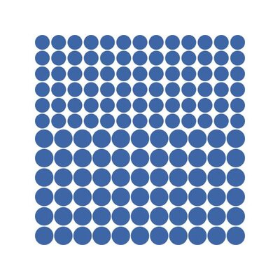 Graz Design Wandtattoo-Set Kreise, Polka, Dots, Punkte