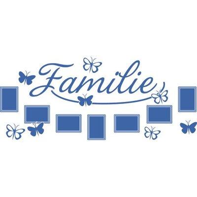 Graz Design Wandtattoo Familie, Schmetterlinge