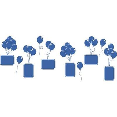 Graz Design Wandtattoo Luftballons, Ballons, Rahmen