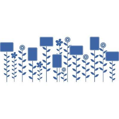 Graz Design Wandtattoo Blumen, Bütten, Blätter