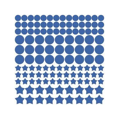 Graz Design Wandtattoo-Set Punkte, Sterne