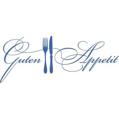Graz Design Wandtattoo Guten Appetit, Messer