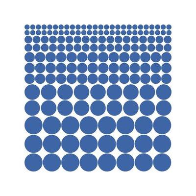 Graz Design Wandtattoo-Set Punkte, Kreis, Polka, Dots