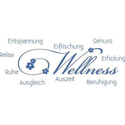 Graz Design Wandtattoo Wellness, Entspannung