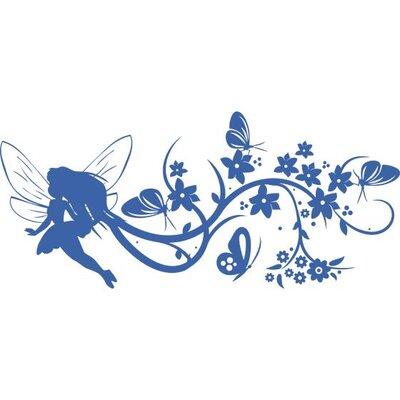Graz Design Garderobenhaken Fee, Elfe, Schmetterlinge