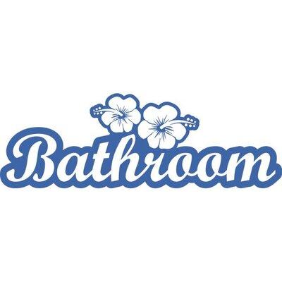 Graz Design Wandtattoo Bathroom, Blumen