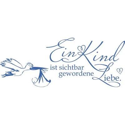 Graz Design Wandtattoo Ein Kind ist sichtbar gewordene Liebe