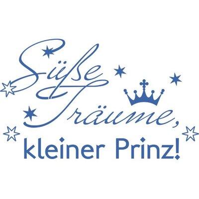 Graz Design Wandtattoo Süße Träume kleiner Prinz