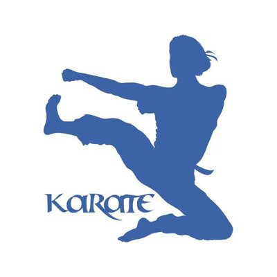 Graz Design Wandtattoo Karate Frau