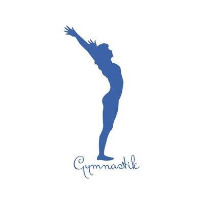 Graz Design Wandtattoo Gymnastik Frau