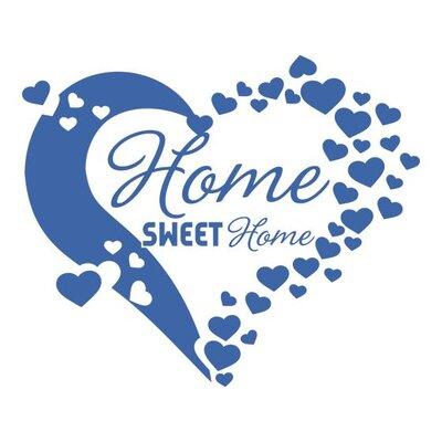 Graz Design Wandtattoo Home Sweet Home