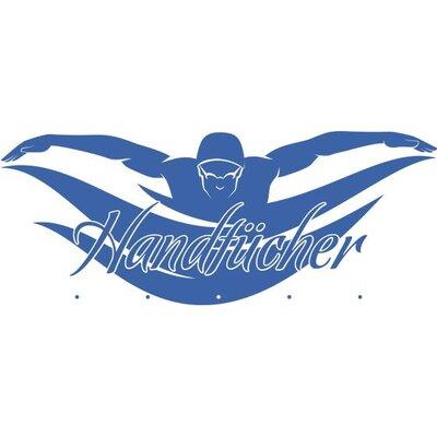Graz Design Garderobenhaken Schwimmer, Handtücher