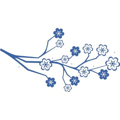 Graz Design Garderobenhaken Ast, Blumen