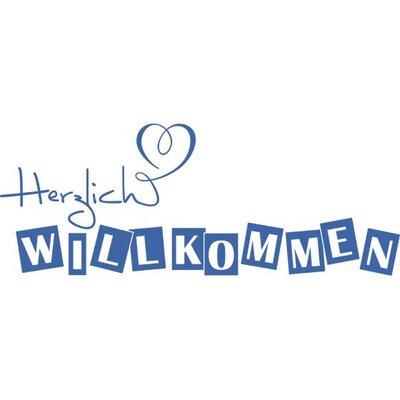 Graz Design Wandtattoo Herzlich Willkommen