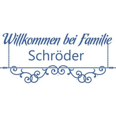 Graz Design Garderobenhaken Willkommen bei Familie, Wunschname, Kette