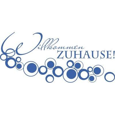 Graz Design Garderobenhaken Willkommen Zuhause, Retro, Kreise