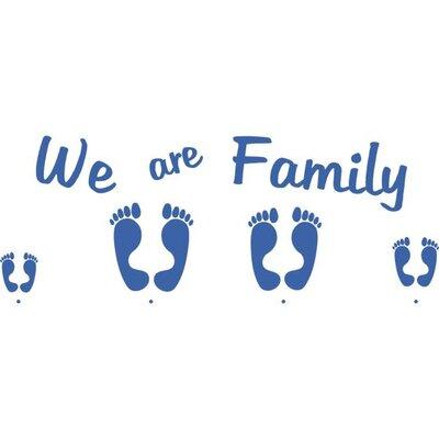 Graz Design Garderobenhaken We are Family, Füße