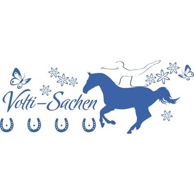 Graz Design Garderobenhaken Volti-Sachen, Pferd