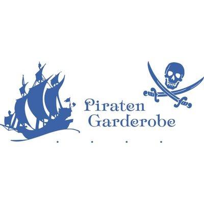 Graz Design Garderobenhaken Piratenschiff, Totenkopf