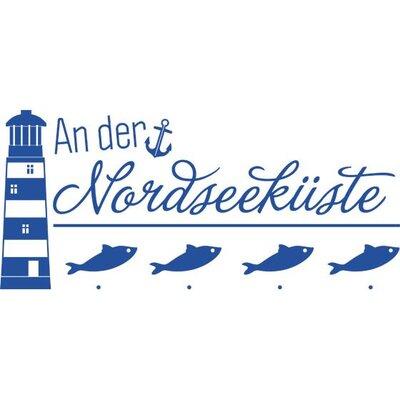 Graz Design Garderobenhaken Nordseeküste, Leuchtturm